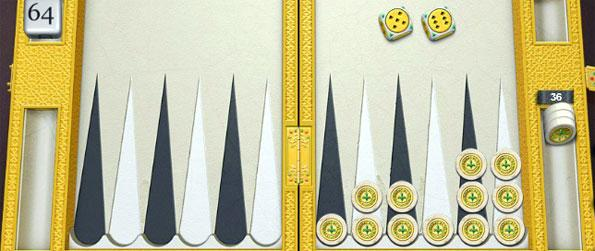Royal Sands - Take a virtual trip to the desert by playing PlayGem Social Backgammon on its desert-themed board, Royal Sands.