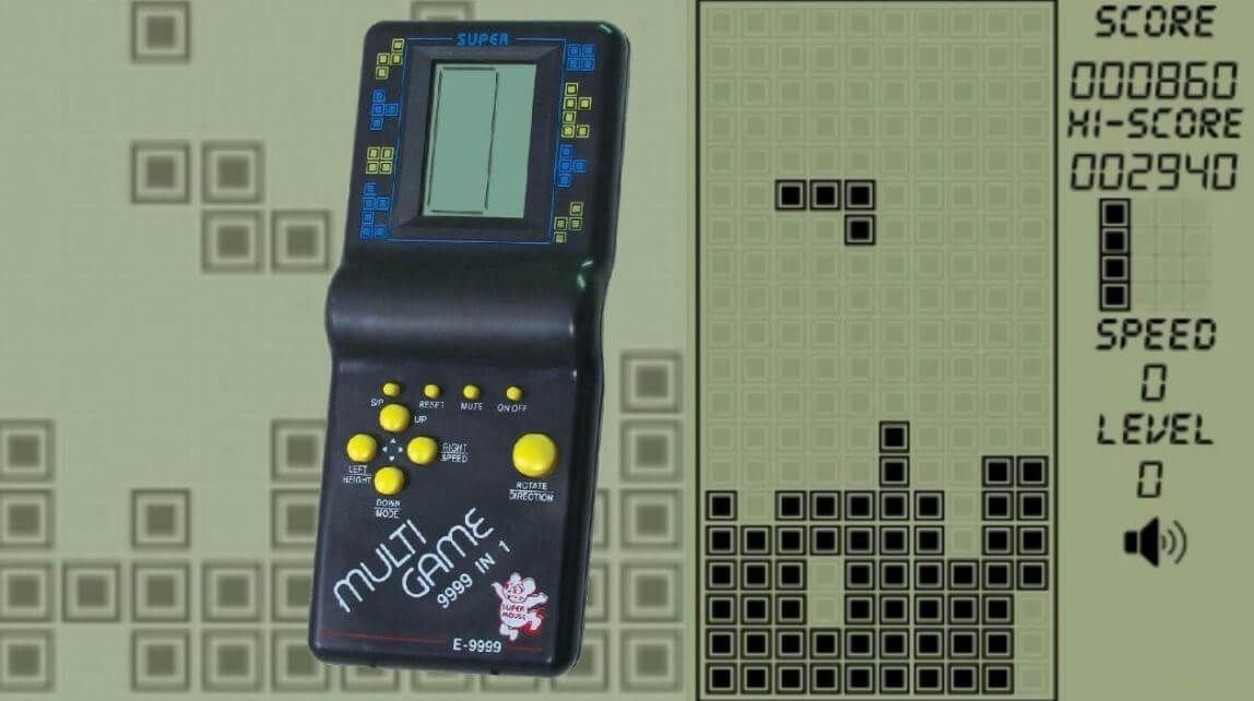 Tetris is a great example of a never-ending puzzle game