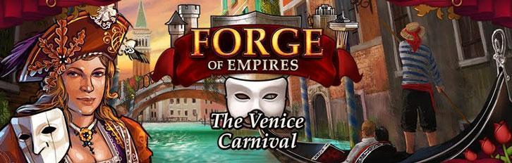 A Trip to Venice: Forge of Empires Carnival-Event