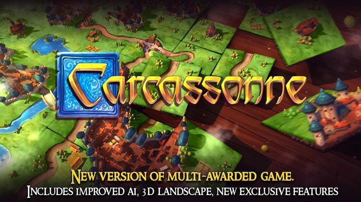New Carcassonne Game Now Available on Steam and Android