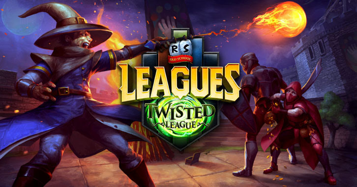 Old School RuneScape's new competitive mode begins today with the launch of 'Twisted League'