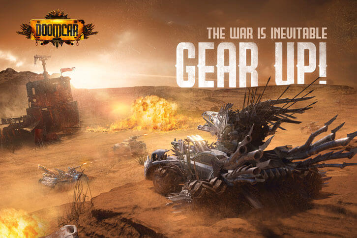 Post-Apocalyptic Mobile-RPG Doomcar Set to Ram-Raid App Stores Worldwide