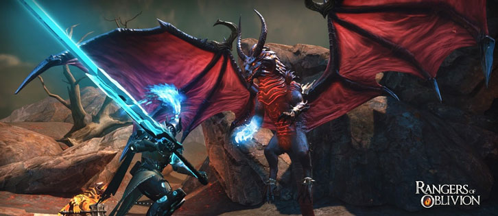 Take on Mutant Behemoths In Rangers of Oblivion!