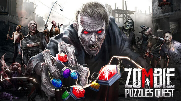 37GAMES to release zombie-themed puzzle strategy game Zombie Puzzles Quest on Aug. 12