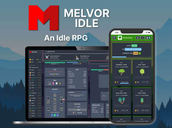 Jagex announces partnership with indie studio Games by Malcs to publish Melvor Idle, a RuneScape-inspired idle game