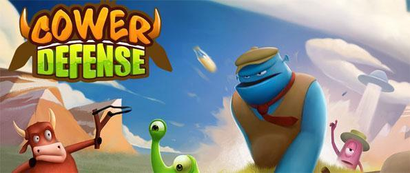 Cower Defense - Enjoy cow puns galore and the hilarious interaction between the persistent aliens and the hot-headed cow sheriff in this challenging tower... uh cower defense game!