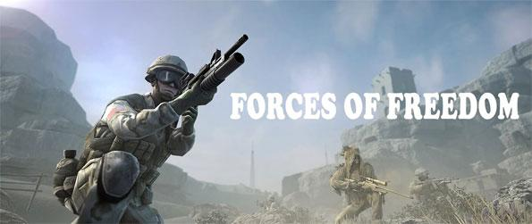 Forces of Freedom - Fight against the enemies in this epic third person shooter game Forces of Freedom.