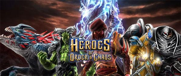 Heroes of Order and Chaos - Enjoy this exhilarating MOBA game that brings the full-fledged experience to the mobile platform.