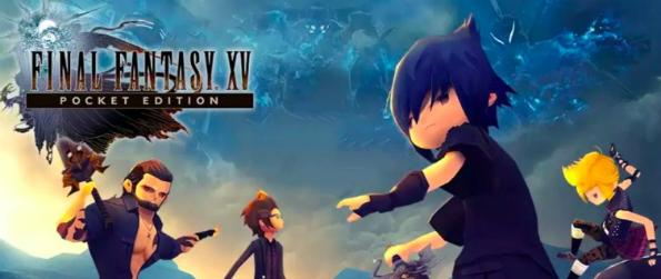 Final Fantasy XV Pocket Edition - Venture into the world of Final Fantasy XV Pocket Edition and play the mobile version of the acclaimed RPG.