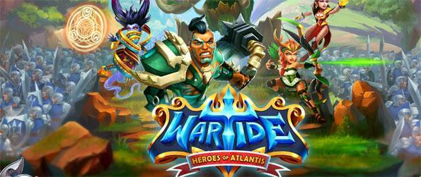 Wartide: Heroes of Atlantis - Gather heroes to your army and defeat your opponents.