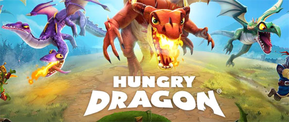 Hungry Dragon - Fly as fire breathing dragons in Hungry Dragon.