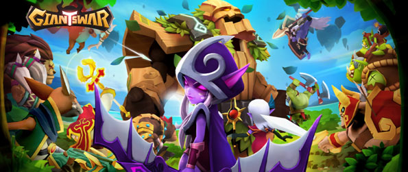Giants War - Summon heroes and form a formidable team in Giants War.