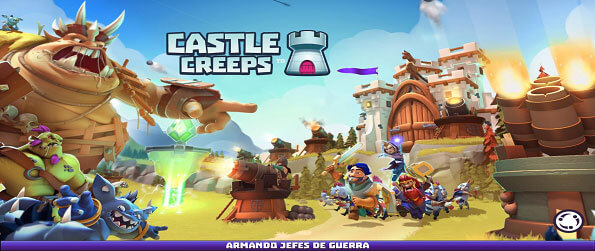Castle Creeps TD - Defend against hordes of goblins in exciting battles with magical heroes and towers full of troops!