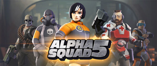 Alpha Squad 5 - Control your very own squad and lead your heroes into battle in this exceptional RPG that's fun and intense.