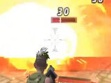 Using a flamethrower in Ride Out Heroes