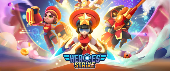 Heroes Strike - Test your skills in this exceptional mobile based game that blends together the elements of various popular genres.