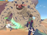 Battling Shukaku of the Sand