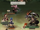 Fighting a fire dragon in SINoAlice