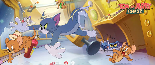 Tom and Jerry: Chase - Enjoy this epic mobile based 1v4 style game that'll have you glued to your phone for hours.