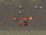 Mini DayZ 2 fighting a zombie