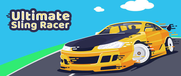 Ultimate Sling Racer - Stay on the lanes as long as you can and beat your personal records in Ultimate Sling Racer.