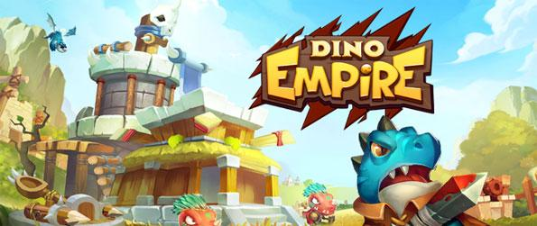 Dino Empire - It is time to gathering your dinosaurs into your fortress and prepare them for war.