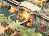 Attacking a castle in Vikings: Age of Warlords