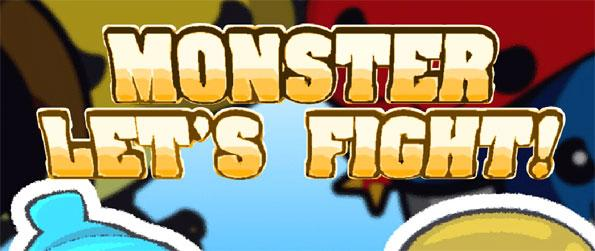 Monster Let's Fight - Face the army of bugs with your trusty team of adorable monsters in Monster Let's Fight!