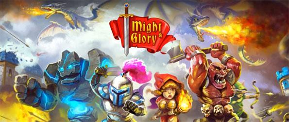Might & Glory: Kingdom War - Recruit knights, wizards and archers, set up traps, and build magical towers and castles in this brilliant RTS-tower defense hybrid game, Kingdom Glory!