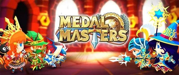 Medal Masters - Play this highly addictive RPG in which you'll get to participate in many intense battles.