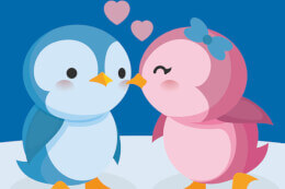Cute Penguin Puzzle thumb
