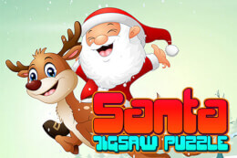 Santa Jigsaw Puzzle Game thumb