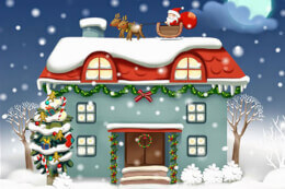 Christmas Rooms Differences thumb