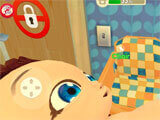 Mother Simulator holding the baby