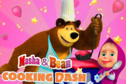 Masha and Bear Cooking Dash thumb