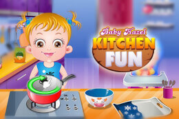 Baby Hazel Kitchen Fun thumb