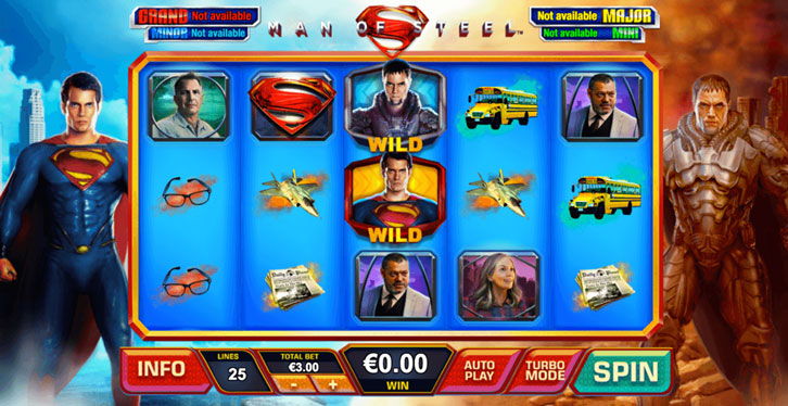 The Man of Steel slot