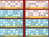 Free Bingo playing with multiple cards