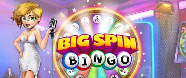 Big Spin Bingo - Try a fabulous bingo experience right here on Facebook.