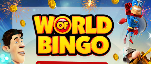 World of Bingo by Zitro - Dive into a glorious world of bingo and play game after game to satiate your desire for it!