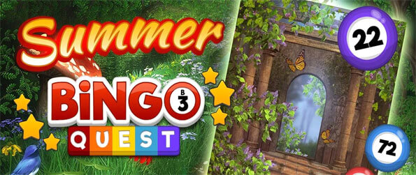 Bingo Quest – Summer Garden Adventure - Enjoy this refreshing bingo game that's going to provide you with hours upon hours of excitement.