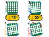 Spin-a-Bingo buying cards