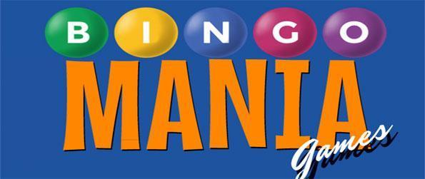 Bingo Mania Games - Enjoy a classic bingo game with up to 9 cards!