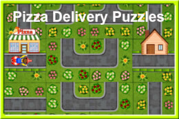 Pizza Delivery Puzzles thumb