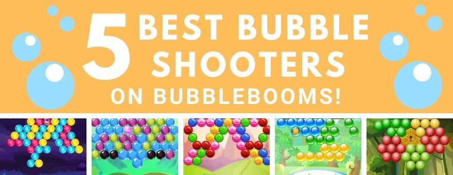 5 Best Bubble Shooters on the BubbleBooms large