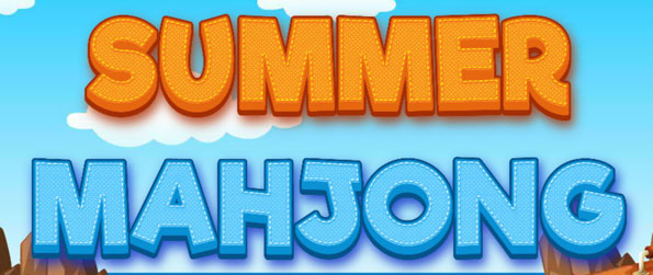 Verão Mahjong - Kick off your shoes and head to the beach in this fun summer-themed game!