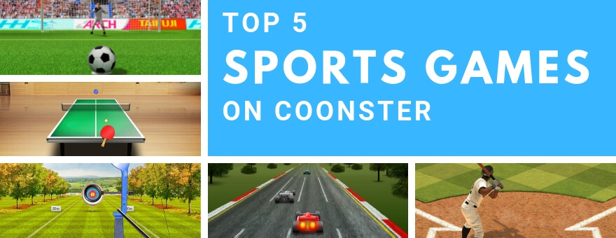 Top 5 Sports Games on Coonster large
