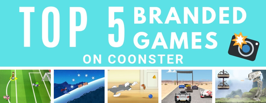 Top 5 Fun Branded Games on Coonster large