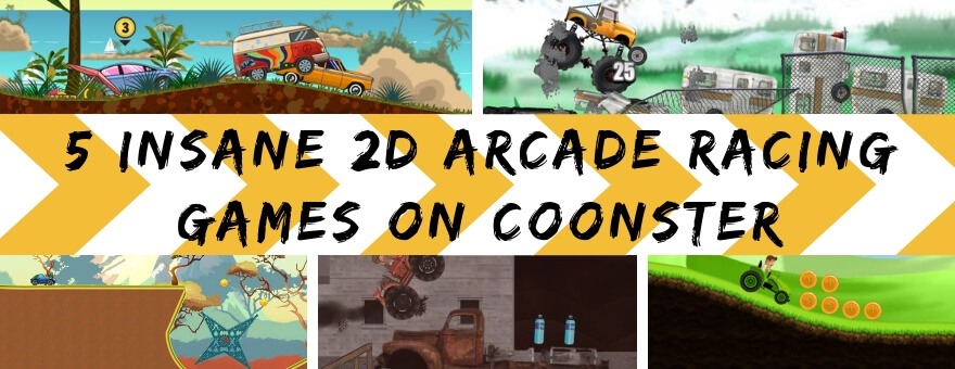 5 Insane 2D Arcade Racing Games on Coonster large