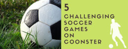 5 Challenging Soccer Games on Coonster thumb